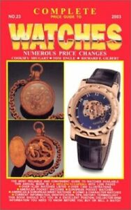 Complete Price Guide to Watches by Shugart, Cooksey Paperback Book The Fast Free