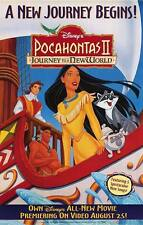 Pocahontas II Dvd Poster Single Sided Original Movie Poster 27x40 inches