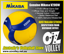 Genuine Mikasa V200W Indoor Volleyball - FIVB Approved - New Model! - OzVolley