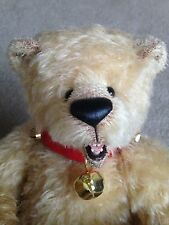 "Wow! OOAK Teddy Bear 1""  Fully Jointed FABIAN SONG MOHAIR OPEN MOUTH TEETH MINT"