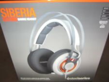 SteelSeries Siberia Prism White Headband Headsets for Multi-Platform