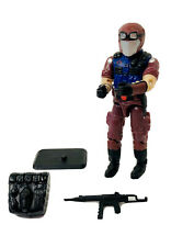 1997 GI JOE COBRA VIPERS INFANTRY TROOPER V-5 w/ WEAPON, BACKPACK & STAND 3.75""