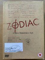 Zodiac DVD True Life Serial Killer Classic Director's Cut UK DVD w/ Slipcover