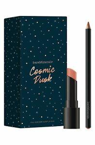 bareMinerals COSMIC DUSK * Gen Nude Lip Duo Borderline Liner Notorious Lipstick