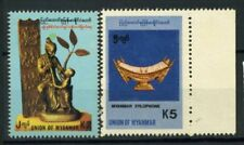 Myanmar 1992 Mi. 309,341 Nuovo ** 100% Strumento musicale Arte Arte 1998