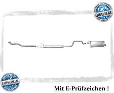 Auspuffanlage Opel Meriva A 1.6 77KW Auspuff Flexrohr Mitteltopf Endtopf