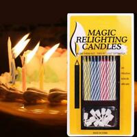 Creative Fake Birthday Candles Not Blowing Out Gag Prank Fun April Fool's Day.
