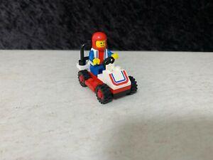 Vintage Lego Legoland No.6609 Classic Town Race Car & Mini Figure. Complete