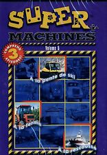 BRAND NEW DVD // SUPER MACHINES VOL 5 //  CHILDREN EDUCATIONAL // FRENCH