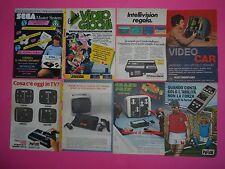 lotto pubblicità topolino 80 advertising vintage sega intellivison retrogame