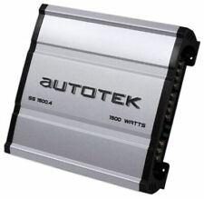 Autotek Ss1500.4 Super Sport Series 1,500-watt 4-channel Class Ab Amp huge power