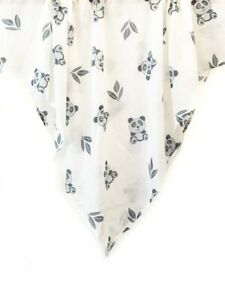 Panda Bear  Muslin Baby Cotton Swaddle Wrap Boa Boa Indus Design