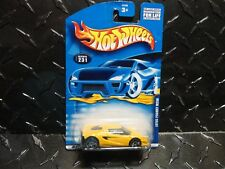 2001 Hot Wheels #231 Yellow Lotus Project M250 w/PR5 Wheels Silver Lotus on Rear