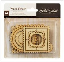 American Crafts Studio Calico Wood Veneer FRAMES Fancy,   -14 ct.  ~331000