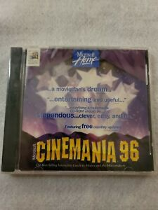 Vintage Microsoft Cinemania 96 Microsoft Home for Windows PC - New