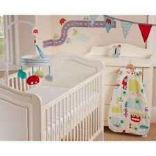 GRO ALL ABOARD BOYS BABY SAFER SLEEP NURSERY SET COT MOBILE + MORE - GIFT