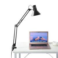 Modern Flexible Swing Arm Clamp Mount Lamp Office Studio Home Table Desk Light