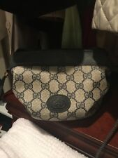 VINTAGE GUCCI / LEATHER  BAG and Gucci wallet