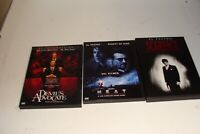 Lot of 3 Al Pacino DVD movies, Devils Advocate , Scarface , Heat