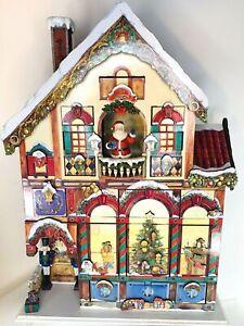 Costco Christmas Advent Calendar 24 Door Wooden Victorian House Heirloom Quality