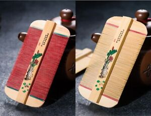Chinese Traditional Bamboo Lice Comb Handmade Dense Comb Remove Itching Scraping