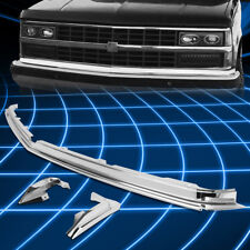 For 88-93 Chevy/GMC Suburban C/K Polished Front Bunper To Body Filler Panel Kit