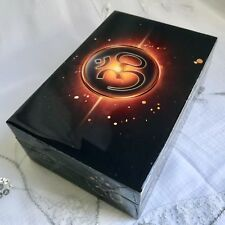 NEW SHINEY LAMINATED OM BLACK TRINKET BOX HAND MADE, JEWELLERY CHARMS FENG SHUI