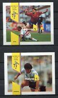 S6435) Nevis 1990 MNH World Cup Football '90 - S/S