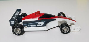 STEALTH FORCE SPEED STAR LEADFOOT TRANSFORMER 2011 TOY! BLACKROCK RACING!