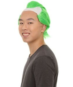 Green Mens Wig | Cosplay Halloween Wig HM-608A