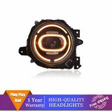 For Suzuki Jimny Headlights Single Lens Beam Projector ALL LED DRL 2018-2020