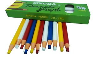4Colors Cut-Free Tailor's Chalk Pencils Fabric Marker and Tracing 12pcs/Set tool
