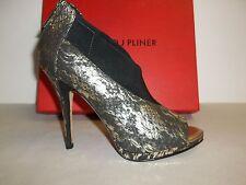 Donald J Pliner Size 7 M SASSI Platino Leather Platform Bootie New Womens Shoes