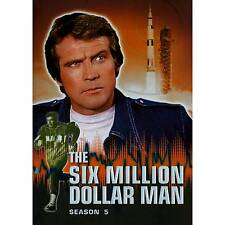The Six Million Dollar Man Season 5 Region 1 DVD
