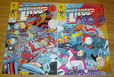 Marshal Law: Secret Tribunal #1-2 VF/NM complete series PAT MILLS kev o'neill