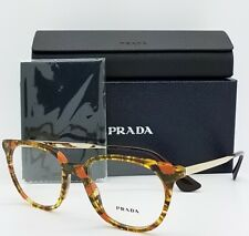 7fa5f72d2ae0 NEW Prada RX Optics Prescription Glasses Tortoise PR 13UV KJN101 50  AUTHENTIC