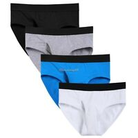 Avidlove Men's One Pack Underwear Classic Basic Briefs Front Funct Fly C1MY