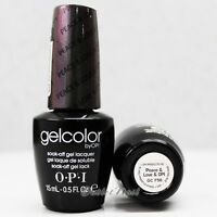 OPI GelColor San Francisco Collection - GC F56 PEACE & LOVE & OPI 15mL Eggplant