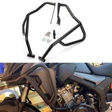 Black Engine Guard Upper Crash Bar Fit For Honda CB500X 2019 Bumper Protector AU