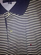 ****Adult Men's XL TOMMY HILFIGER Sport Shirt Polo GOLF Short Slv Authentic Gear
