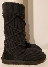 UGG Classic Argyle Knit Cardy Boots Womens Size 8  Style 5879