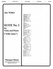 Suite No. 1 Effie Tuba in C B.C. and Piano NEW 035022113