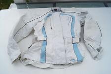 POLO Tex Drive Damen Motorrad Jacke Motorradjacke Gr.XS 34 36 weiß hellblau TOP