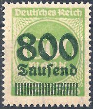 """Ziffer im Kreis MiNr. 308Aa II Infla Berlin und """"II"""" geprüft postfrisch"""