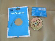 Vintage Rex Gold Tone Gas Tank Cap RX103 VP Made In USA NOS