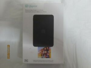 Lifeprint Photo and Video Printer -Black LP001-2 NEW IN BOX CDN SELLER