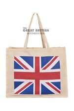 Union-jack Cotton Bag ECO Portable Reusable Fold-able Tote Shopping Handbag
