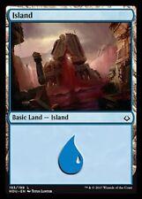 Island (193/199) NM X4 Hour of Devastation Basic Land Common MTG