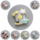 5Pcs/set Hairpin Baby Kids Hair Clip Bow Flower Mini Barrettes Cute Girls Infant