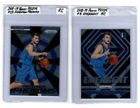 2018-19 Panini Prizm Luca Doncic (2) Card Rookie Insert Lot / RC, PSA Ready, 10?